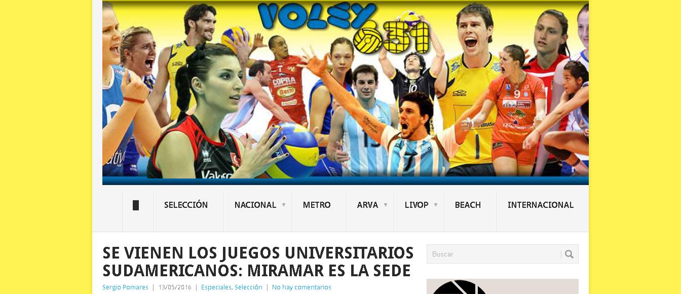 Se Vienen Los Juegos Universitarios Sudamericanos Miramar Es La