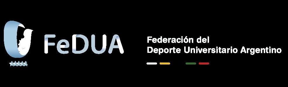 FeDUA – Federación del Deporte Universitario Argentino logo